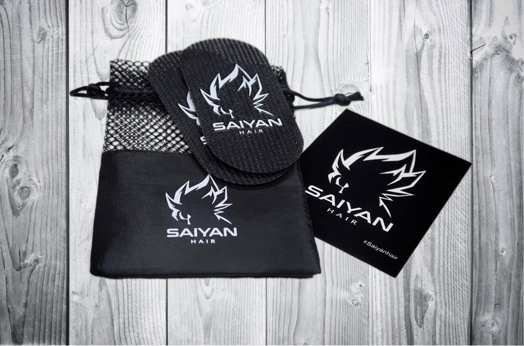 KEEP HAIR IN PLACE - EXCLUSIVE SAIYAN HAIR GRIPPERS (2pc) -  GIVE IT A TRY!