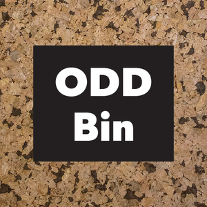 Odd Bin: Once-off-pieces