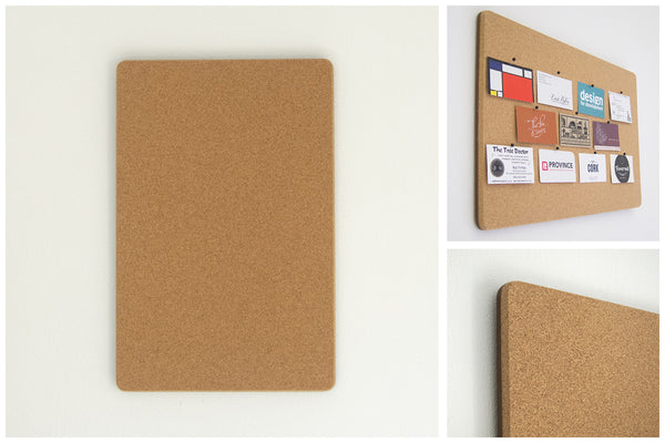 Rectangle Pinboard with Square Corners