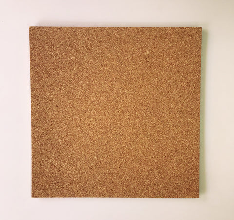 Self Adhesive Cork Tile - 4 x Cork Tiles per pack