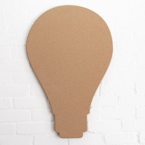 Light Bulb Pinboard