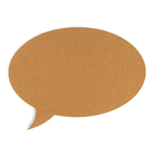 Speech Bubble Pinboard - Oval