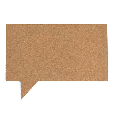 Speech Bubble Pinboard - Rectangle
