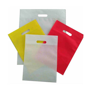 Non Woven D Cut Custom Bag
