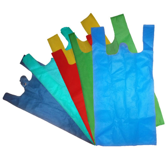 Non Woven W Cut Custom Bag