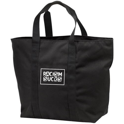 Racism Sucks All Purpose Tote Bag