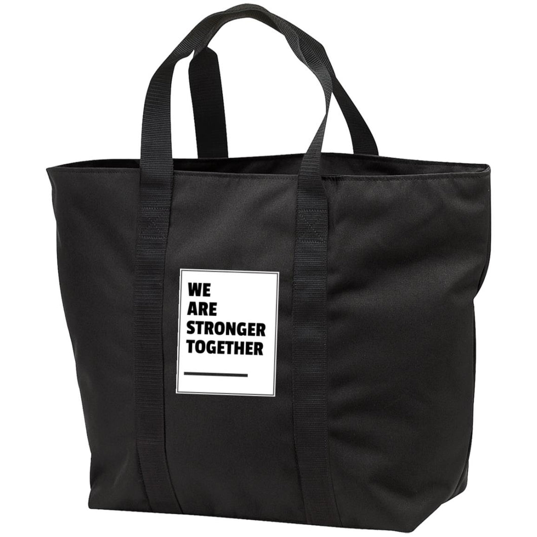 Stronger Together All Purpose Tote Bag