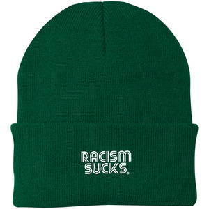 Racism Sucks Knit Cap