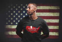 Racism Sucks America - Short-Sleeve Unisex T-Shirt - Black