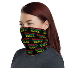 Racism Sucks Face Mask /Neck Gaiter Rasta