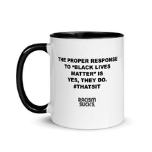Proper Response...Mug with Color Inside