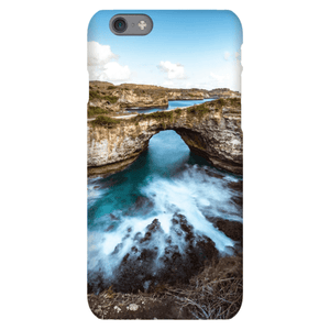 SMARTPHONE SHELL BROKEN BEACH Smartphone case Ultra slim case / iPhone 6S - Thibault Abraham