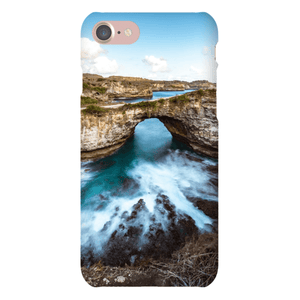 SMARTPHONE CASE BROKEN BEACH Smartphone Slim Case / iPhone 7 - Thibault Abraham