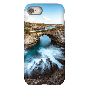 SMARTPHONE CASE BROKEN BEACH Smartphone Case Hard Shell / iPhone 8 - Thibault Abraham