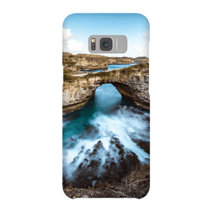 SMARTPHONE SHELL BROKEN BEACH Smartphone Case Ultra Thin Shell / Samsung Galaxy S8 Plus - Thibault Abraham