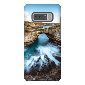 SMARTPHONE SHELL BROKEN BEACH Smartphone Case Hard Shell / Samsung Galaxy Note 8 - Thibault Abraham