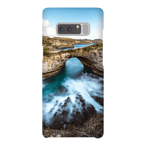 SMARTPHONE SHELL BROKEN BEACH Smartphone Case Ultra Thin Shell / Samsung Galaxy Note 8 - Thibault Abraham