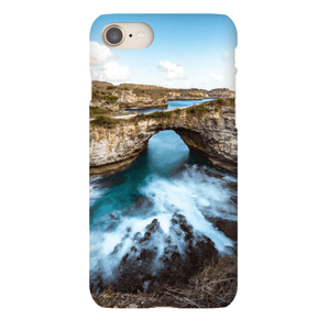 SMARTPHONE CASE BROKEN BEACH Smartphone Slim Case / iPhone 8 - Thibault Abraham