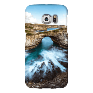 SMARTPHONE SHELL BROKEN BEACH Smartphone Case Ultra Thin Case / Samsung Galaxy S6 Edge - Thibault Abraham