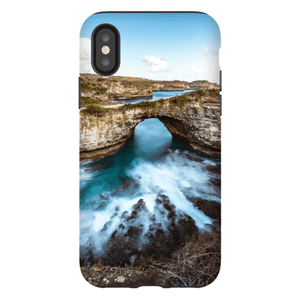 SMARTPHONE SHELL BROKEN BEACH Smartphone Hard Shell Case / iPhone XS - Thibault Abraham