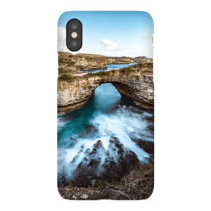 SMARTPHONE SHELL BROKEN BEACH Smartphone case Ultra slim case / iPhone X - Thibault Abraham