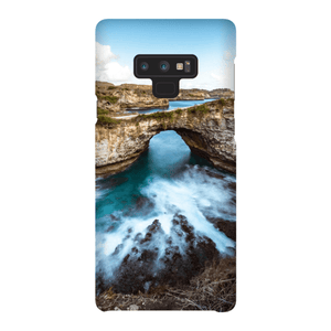 SMARTPHONE SHELL BROKEN BEACH Smartphone Case Ultra Thin Shell / Samsung Galaxy Note 9 - Thibault Abraham