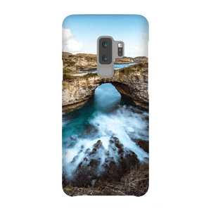 SMARTPHONE SHELL BROKEN BEACH Smartphone Case Ultra Thin Shell / Samsung Galaxy S9 Plus - Thibault Abraham