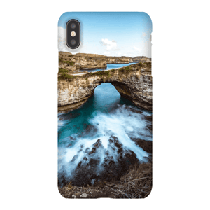 SMARTPHONE SHELL BROKEN BEACH Smartphone case Ultra slim case / iPhone XS Max - Thibault Abraham
