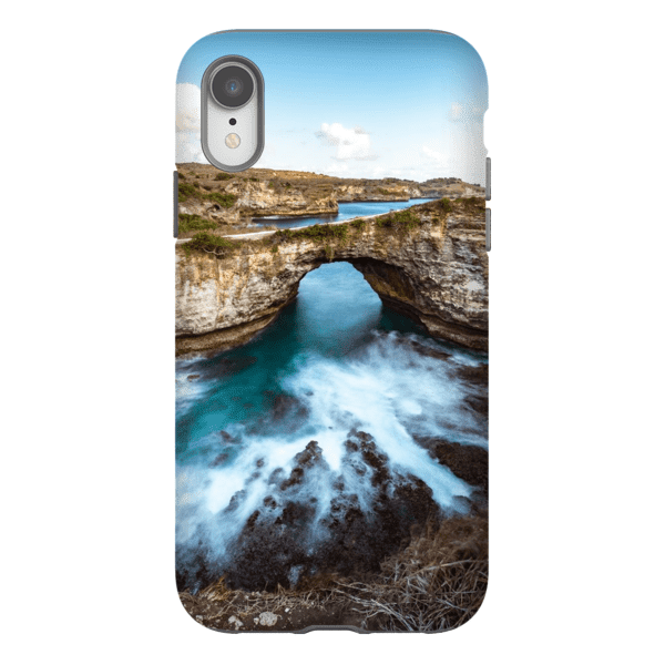 SMARTPHONE SHELL BROKEN BEACH Smartphone Hard Shell Case / iPhone XR - Thibault Abraham