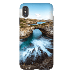 SMARTPHONE SHELL BROKEN BEACH Smartphone Hard Shell Case / iPhone XS Max - Thibault Abraham