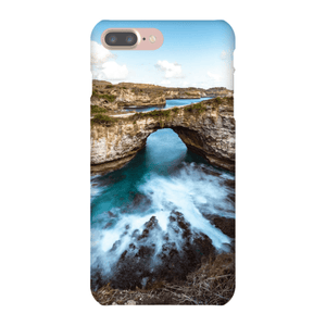 SMARTPHONE SHELL BROKEN BEACH Smartphone case Ultra slim case / iPhone 7 Plus - Thibault Abraham
