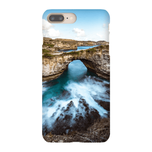 SMARTPHONE SHELL BROKEN BEACH Smartphone case Ultra slim case / iPhone 8 Plus - Thibault Abraham