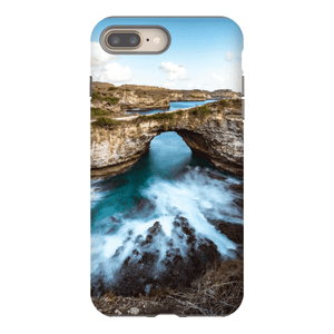 SMARTPHONE CASE BROKEN BEACH Smartphone Case Hard Shell / iPhone 8 Plus - Thibault Abraham