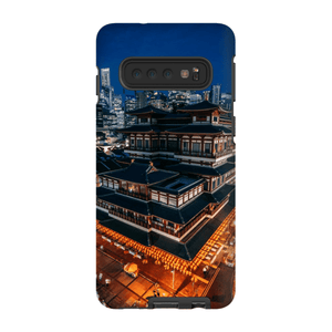 BUDDHA TOOTH RELIC TEMPLE SMARTPHONE CASE Smartphone Hard Shell Case / Samsung Galaxy S10 - Thibault Abraham