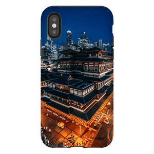 BUDDHA TOOTH RELIC TEMPLE SMARTPHONE CASE Smartphone Hard Shell Case / iPhone XS - Thibault Abraham