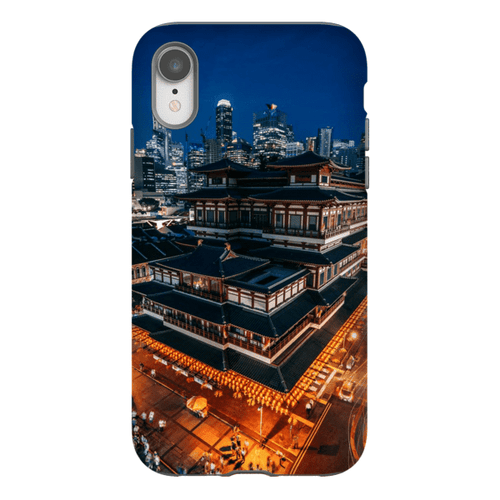 BUDDHA TOOTH RELIC TEMPLE SMARTPHONE CASE Smartphone Hard Shell Case / iPhone XR - Thibault Abraham