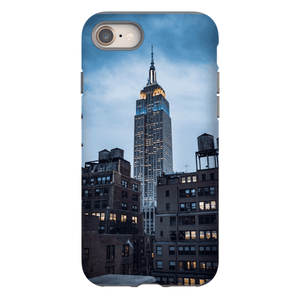 SMARTPHONE CASE EMPIRE STATE Smartphone Tough Case / iPhone 8 - Thibault Abraham
