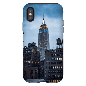 SMARTPHONE EMPIRE STATE CASE Smartphone Hard Shell Case / iPhone XS - Thibault Abraham