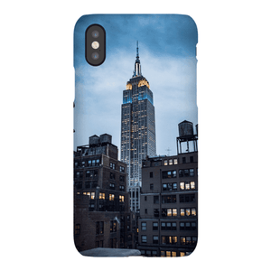 SMARTPHONE EMPIRE STATE CASE Smartphone Case Ultra Thin Case / iPhone XS - Thibault Abraham