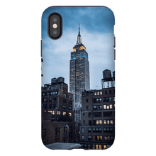 Load image in gallery, SMARTPHONE CASE EMPIRE STATE Smartphone Tough Case / iPhone X - Thibault Abraham