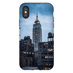 SMARTPHONE CASE EMPIRE STATE Smartphone Tough Case / iPhone X - Thibault Abraham