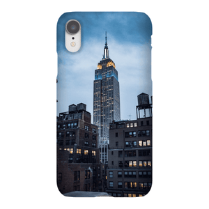 SMARTPHONE EMPIRE STATE CASE Smartphone Case Ultra Thin Case / iPhone XR - Thibault Abraham