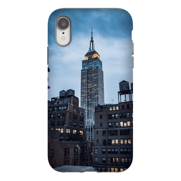 SMARTPHONE CASE EMPIRE STATE Smartphone Tough Case / iPhone XR - Thibault Abraham