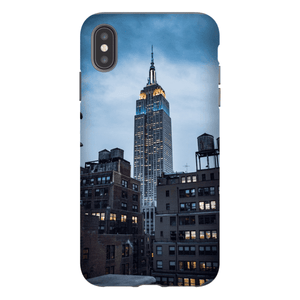 SMARTPHONE EMPIRE STATE CASE Smartphone Hard Shell Case / iPhone XS Max - Thibault Abraham