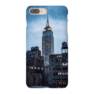 SMARTPHONE EMPIRE STATE CASE Smartphone Case Ultra Thin Case / iPhone 8 Plus - Thibault Abraham