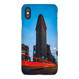SHELL SMARTPHONE FLAT IRON Smartphone Case Ultra Thin Case / iPhone X - Thibault Abraham
