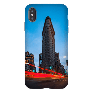 SMARTPHONE CASE FLAT IRON Smartphone Tough Case / iPhone XS Max - Thibault Abraham