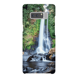 SHELL SMARTPHONE GITGIT WATERFALL Smartphone Case Ultra Thin Case / Samsung Galaxy Note 8 - Thibault Abraham