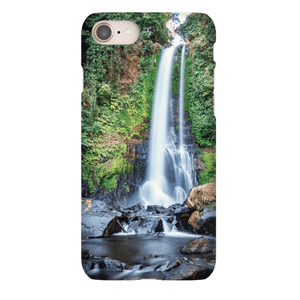 SHELL SMARTPHONE GITGIT WATERFALL Smartphone Case Ultra Thin Case / iPhone 8 - Thibault Abraham
