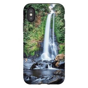 SHELL SMARTPHONE GITGIT WATERFALL Smartphone Case Hard Shell / iPhone X - Thibault Abraham